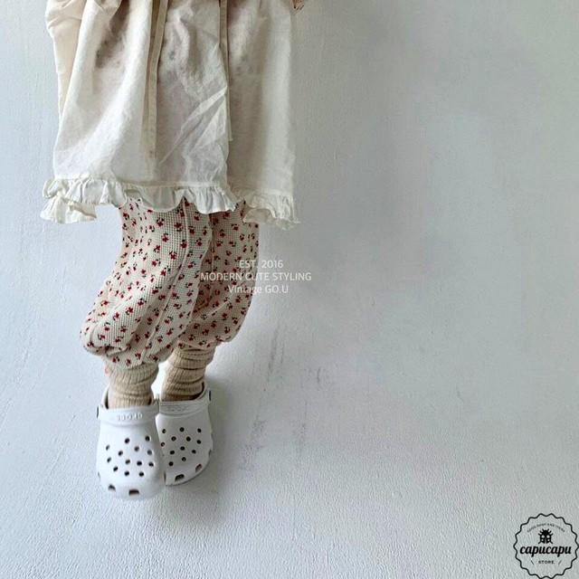 «即納» go.u flower pants フラワーパンツ