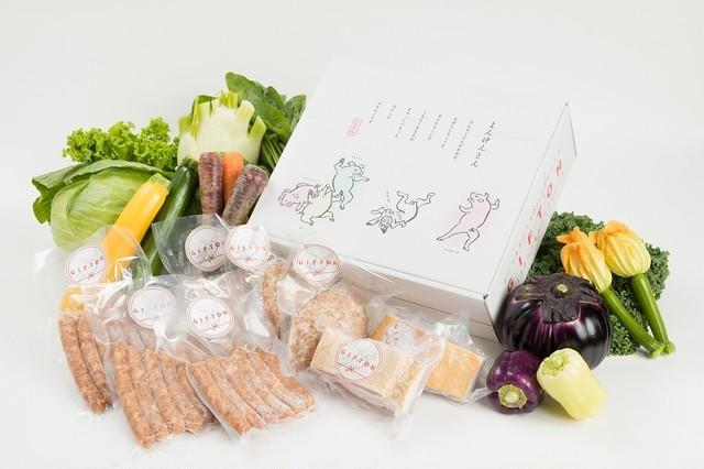 季節の野菜とGIFTONハーフセット
