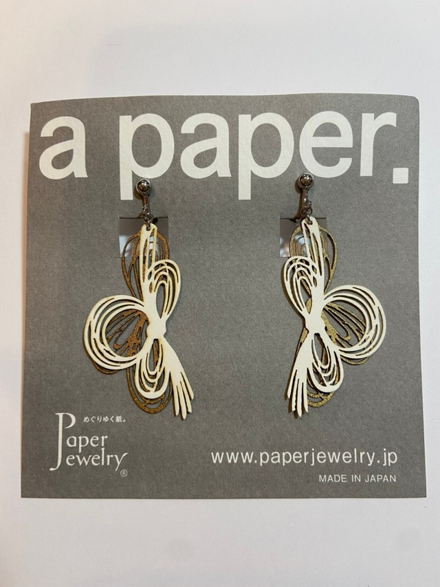 【Paper Jewely】ミズヒキ/イヤリング