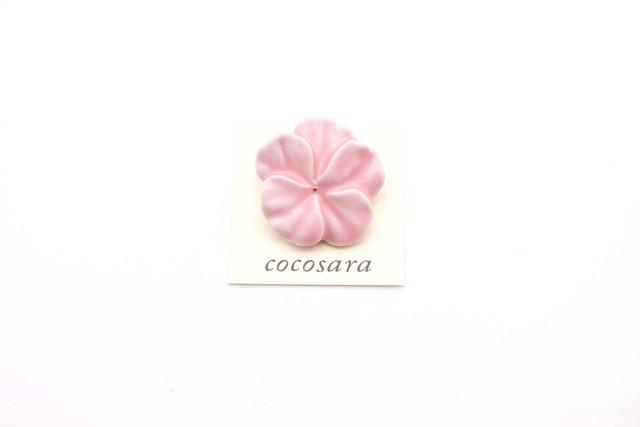 有田焼 ブローチ flower(M)ピンク