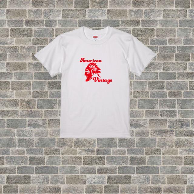 【オリジナル】【ヴィンテージ風】【Tシャツ】あめりかんなTシャツ