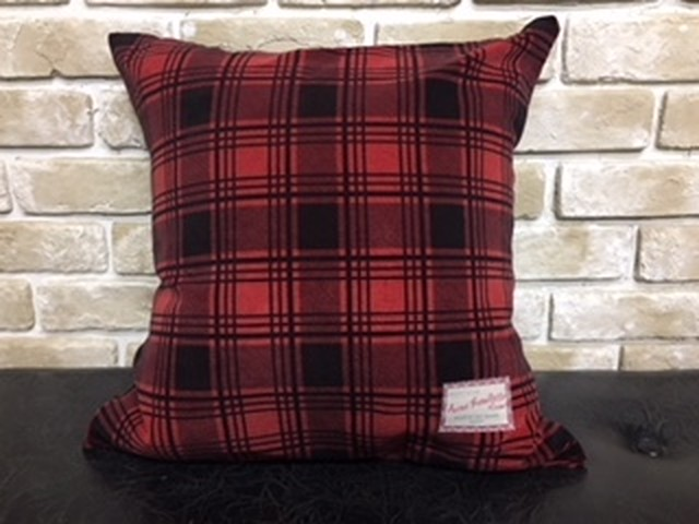 "ACME × NORTH NO NAME ""PLAID PRINTED CORDUROY CUSHION"""