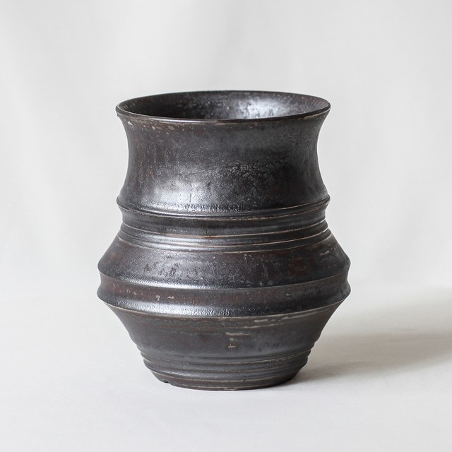 Roughness Black Plants Pot(No,19)※MEDIUM