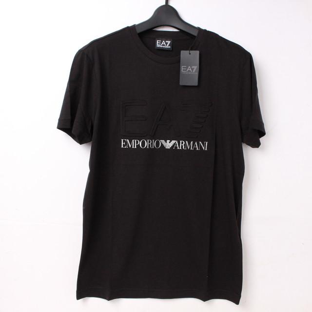 ENPORIO ARMANI エンポリオアルマーニ EA7 Tシャツ ブラック S[全国送料無料]r017558