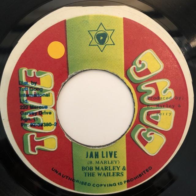 Bob Marley & The Wailers - Jah Live【7-20310】