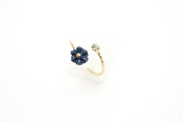 有田焼リング flower 4