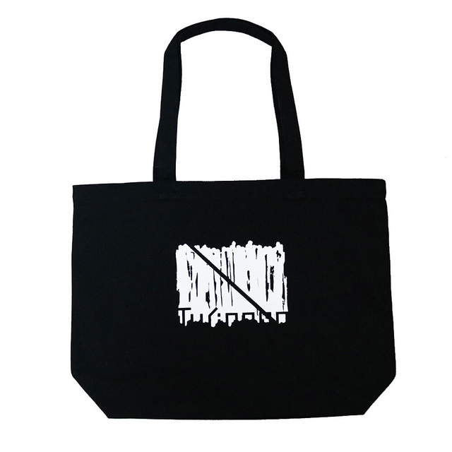 HALFLOGO GRAPHIC Canvas Tote bag