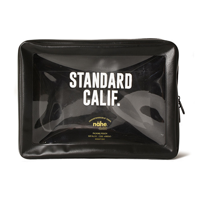 STANDARD CALIFORNIA #HIGHTIDE × SD Packing Pouch Large