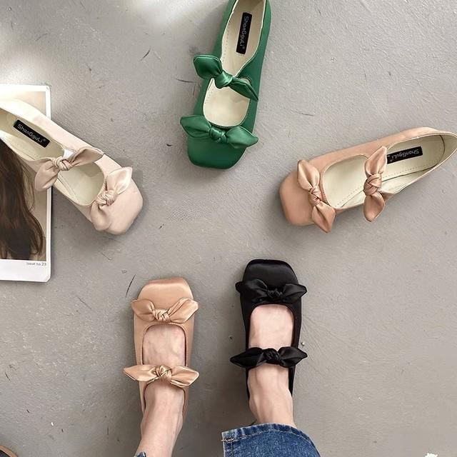 satin ballet shoes 4c's