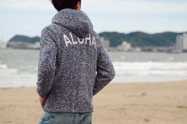 【Fin3月号掲載】ALOHA BOA ZIP Foodie(navy mix)