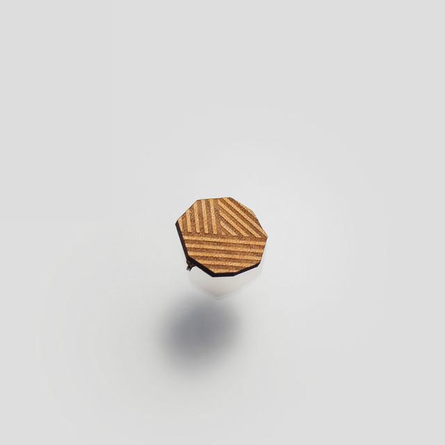 pierce transformation stripe  / 変形ストライプピアス【片耳用】