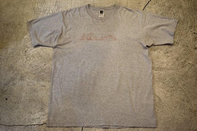 USED THE NORTH FACE T-shirt XL T0188