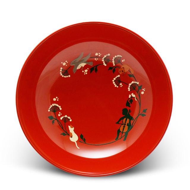 手塩皿 命のアンサンブル 作品1(40)皿立て付