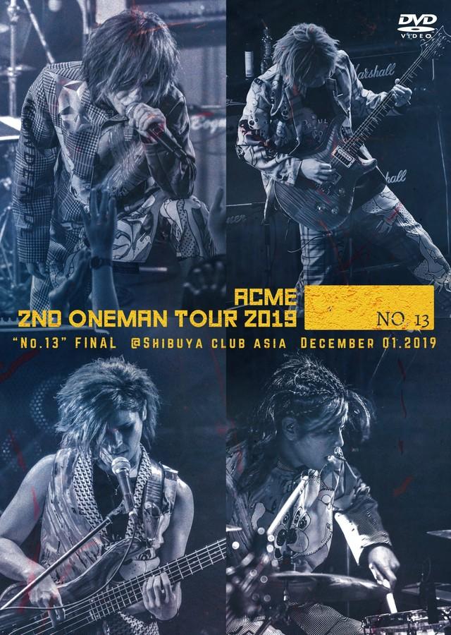 DVD 「2nd ONEMAN TOUR -No.13-」限定スペシャルセットA