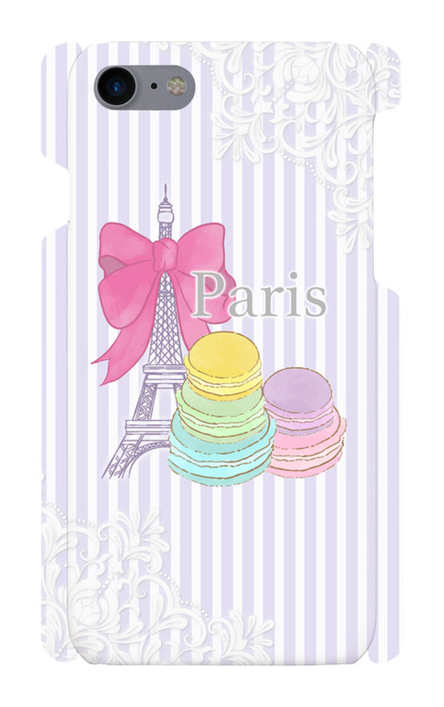 Macaron Paris Purple -iphone7/8-