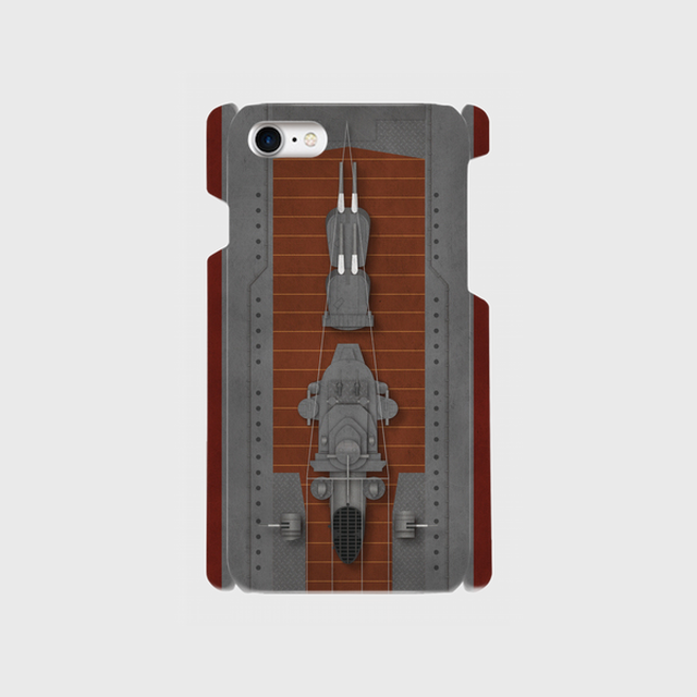 大日本帝国海軍軍艦旗・自衛艦旗(汚し塗装) iPhoneケース