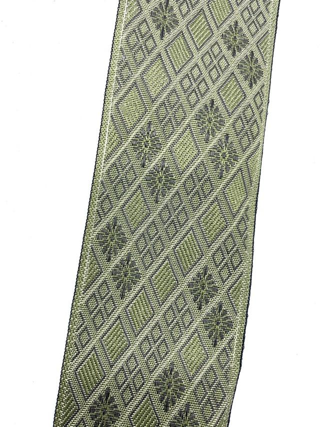 畳縁(たたみへり)【斜菱 薄緑】 【4m】