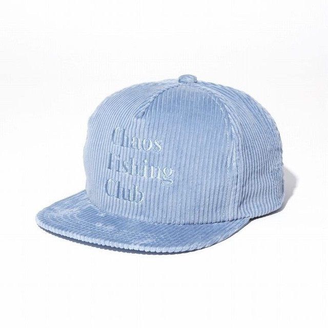 【Chaos Fishing Club】LOGO CORDUROY CAP