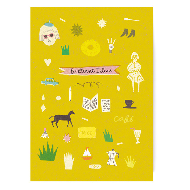 Brilliant Ideas A5 Notebook