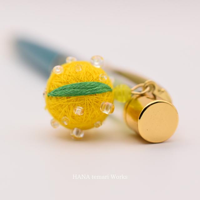 Citrus  temari  pen 【柚子】