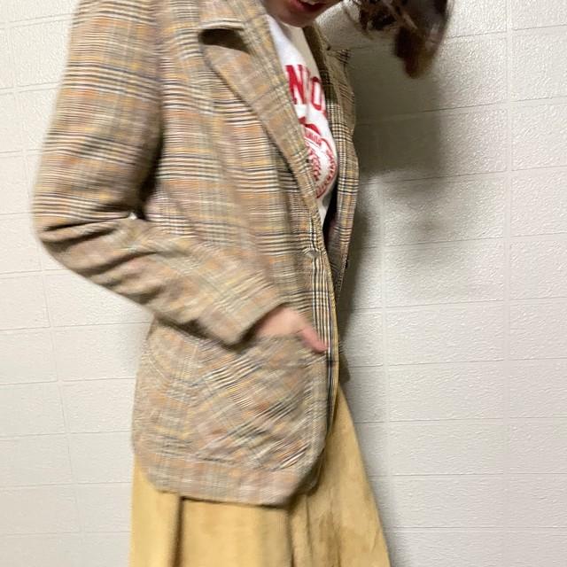 70s~80s PENDOLTON check jacket