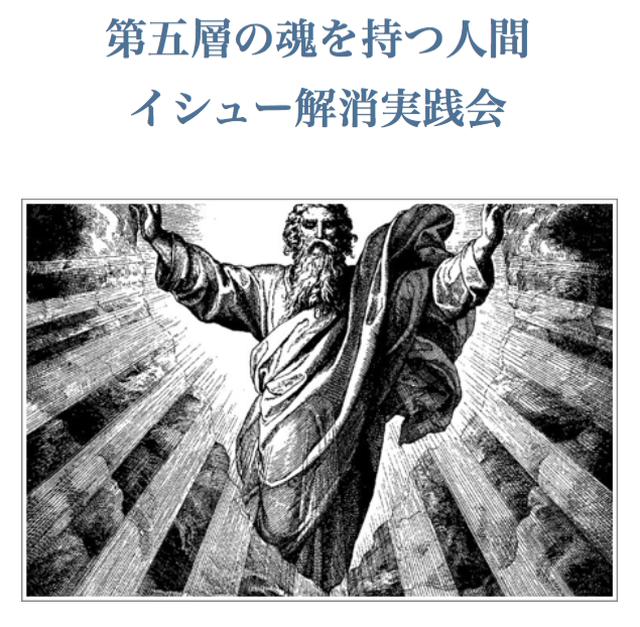 第五層の魂を持つ人のイシュー解消実践会