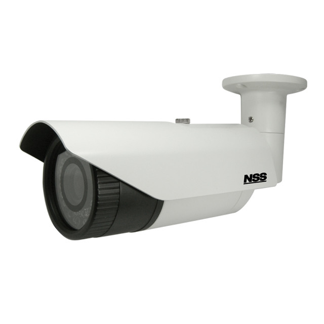 AHD防水暗視バリフォーカル望遠カメラ(NSC-AHD943)