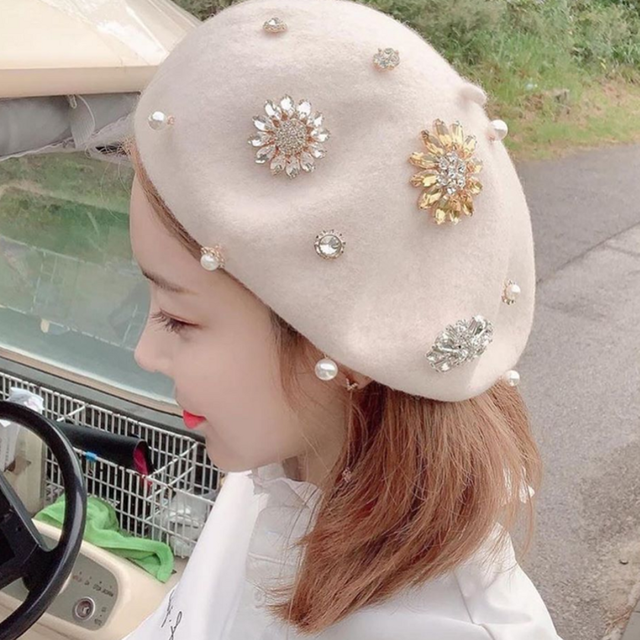 Custom-made Beret(Beige)