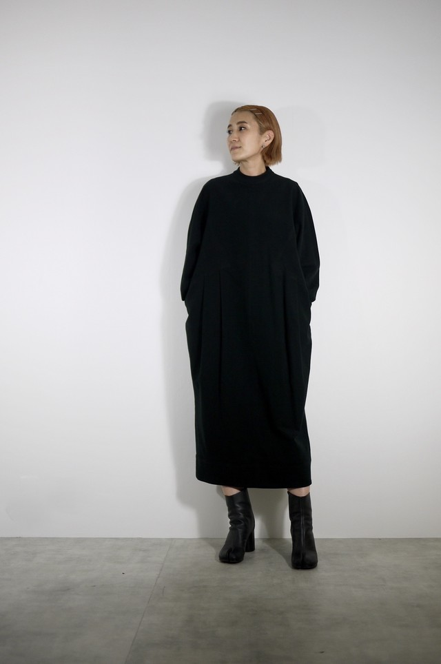 TENNE HANDCRAFTED MODERN Cotton cocoon dress