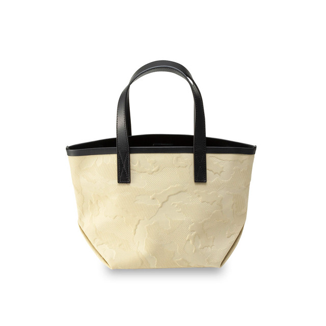 GENTIL BANDIT LABEL NOIR CANVAS TOTE PM BEIGE
