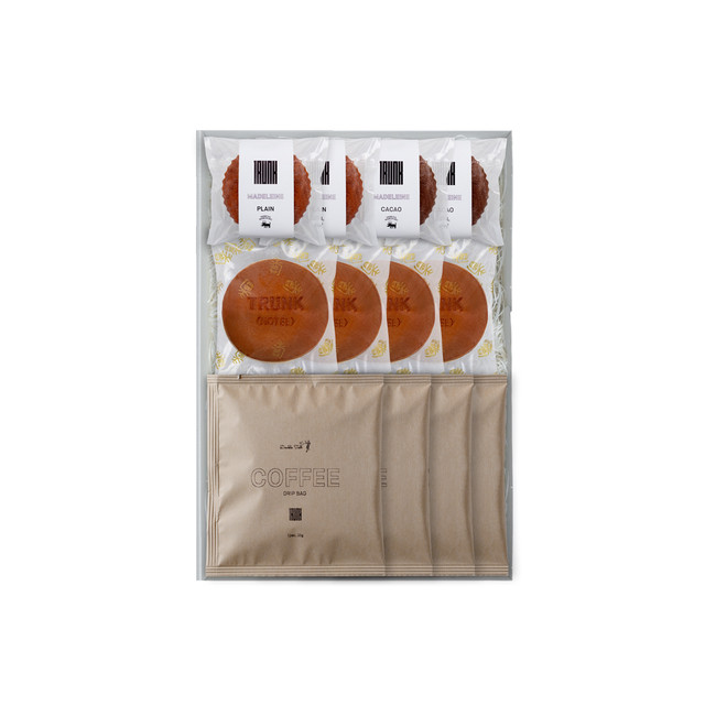 【Gift Set】Madeleine & Dorayaki & Coffee Drip Bag