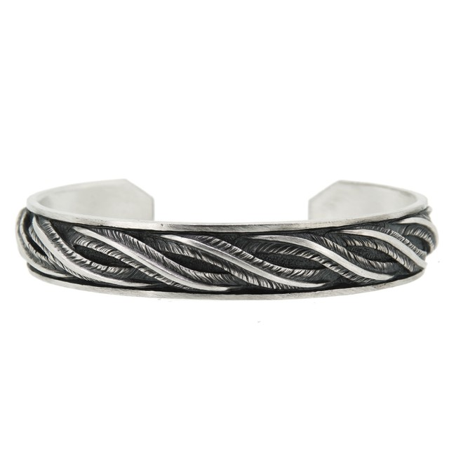 flow of feather bangle M / DFB-35