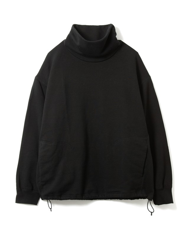 【SANDINISTA】Turtleneck Sweatshirt(BLACK)
