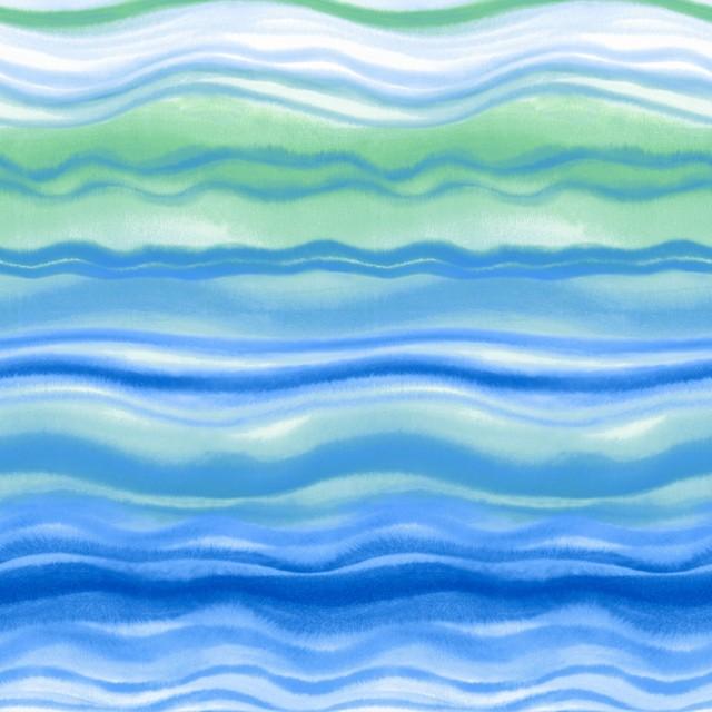 【Paper+Design】バラ売り2枚 ランチサイズ ペーパーナプキン Blue waves ブルー