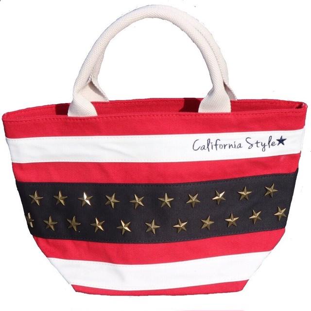 Americanflag Totebag  【Red】