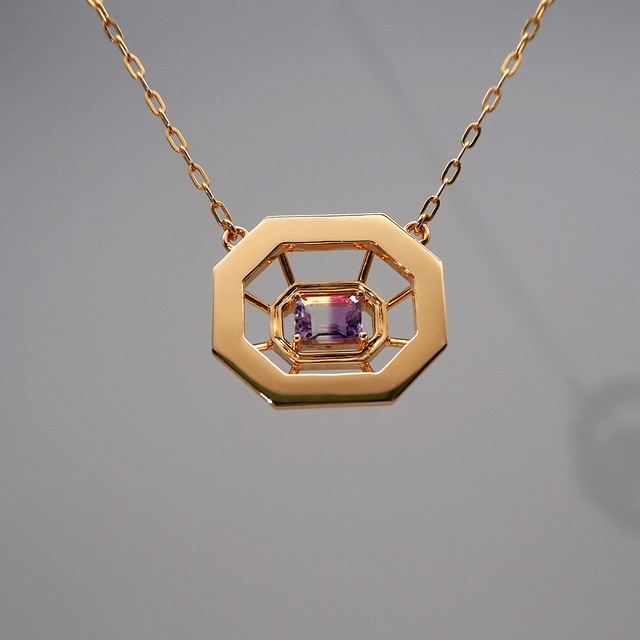 OLIVIA  MIRROR  PENDANT  NECKLACE  SMALL (ペンダント  ネックレス)