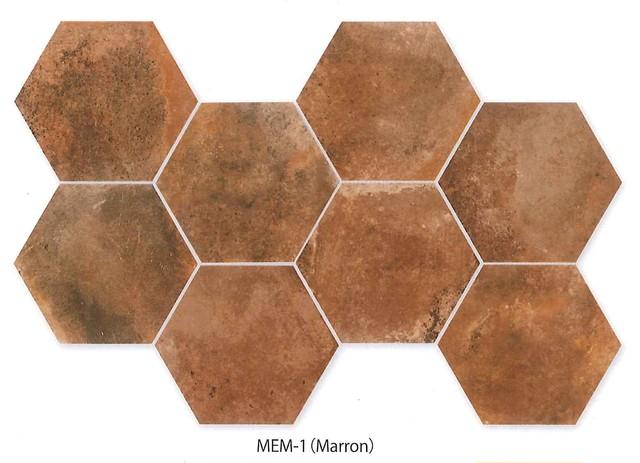 メンフィス 六角形平/SWANTILE スワンタイル MADE IN SPAIN 輸入品
