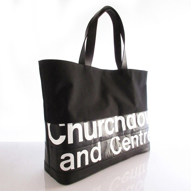 Tote Bag (L) / Black  TLB-0003