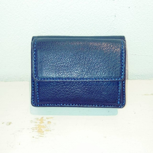 mini wallet L'ISOLA-MERIDIONALE- ブラック