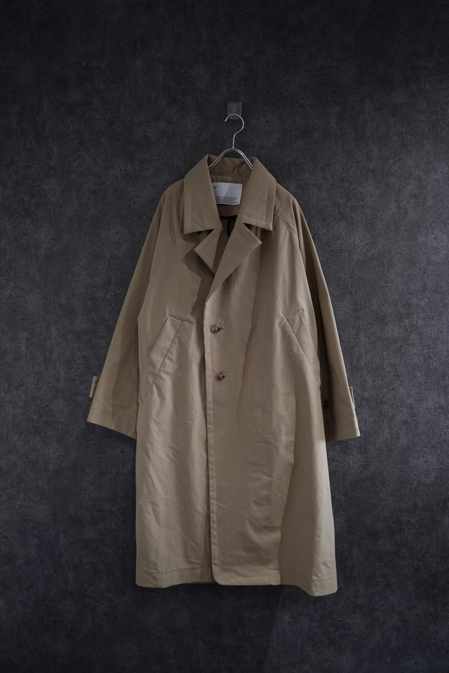 VOAAOV SUSTAINABLE NYLON COAT beige