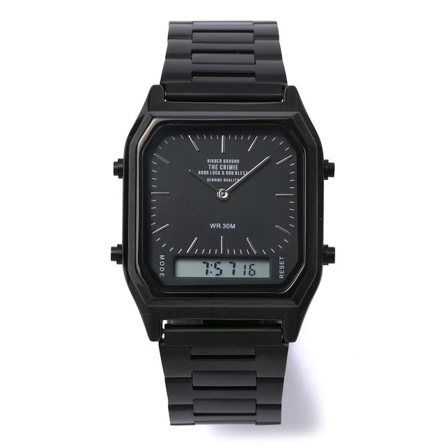 CRIMIE / C1G3-AC06	THE MULTI WATER PROOF RETRO DEGITAL WATCH