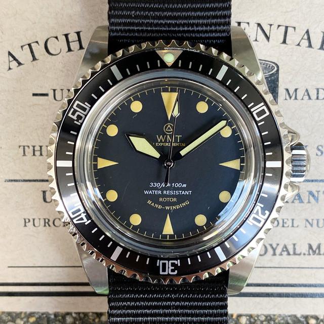 WMT WATCH  ROYAL MARINE  Ocean  Military (NH35) WMT1466-05