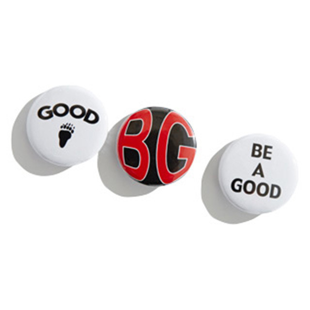 BEAGOOD / BUTTON-BADGE(SET OF THREE)  BE A GOOD