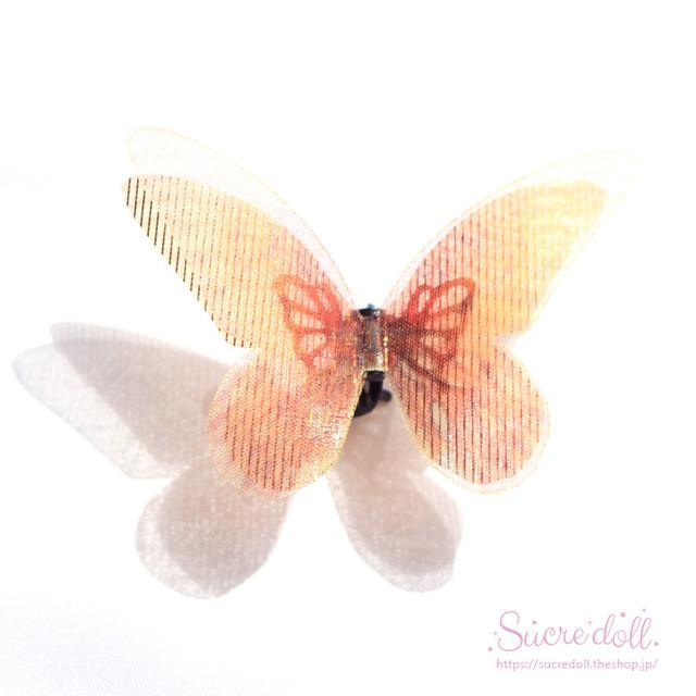 [雷鳴] 胡蝶の夢 ヘアクリップ