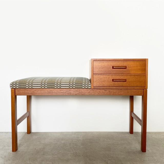 Telephone bench with Johanna Gullichsen Helios / OH019