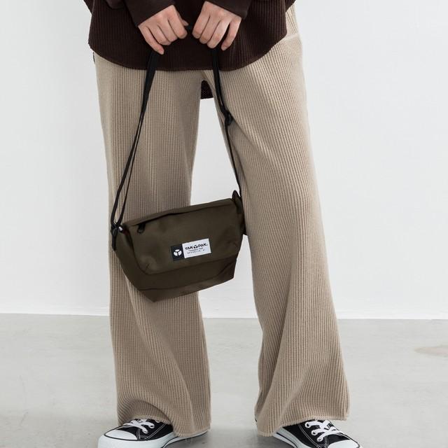 【YAK PAK】RICKMAN FLAP SHOULDER BAG NO9125359