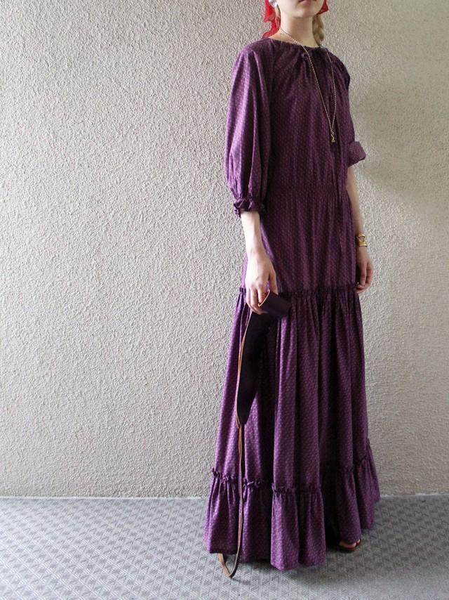 70's cotton dress