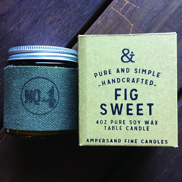 4oz Amber Jar Candle -FIG SWEET- キャンドル Candles - メイン画像
