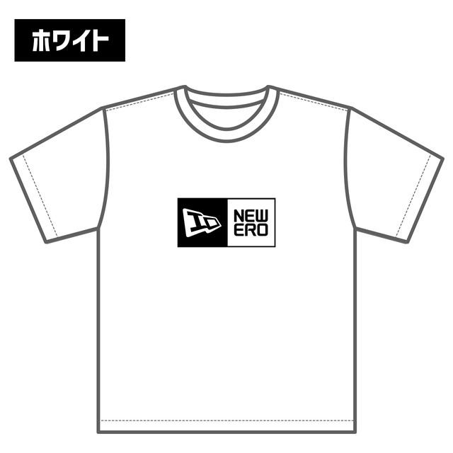 【5月上旬発送予定】NEWERO ロゴ Tシャツ ホワイト / ブラック