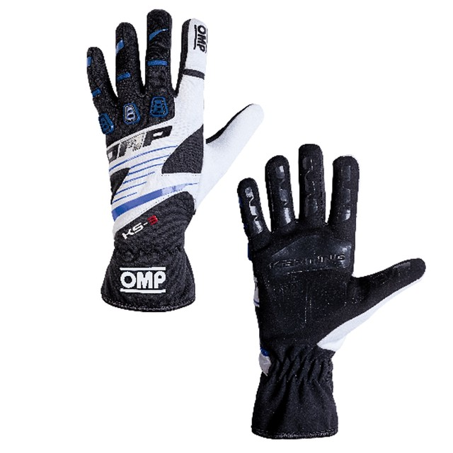 KK02743E175  KS-3 Gloves (Black/blue/white)